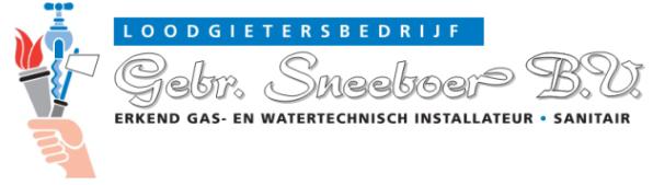 Loodgietersbedrijf Gebr. Sneeboer B.V.
